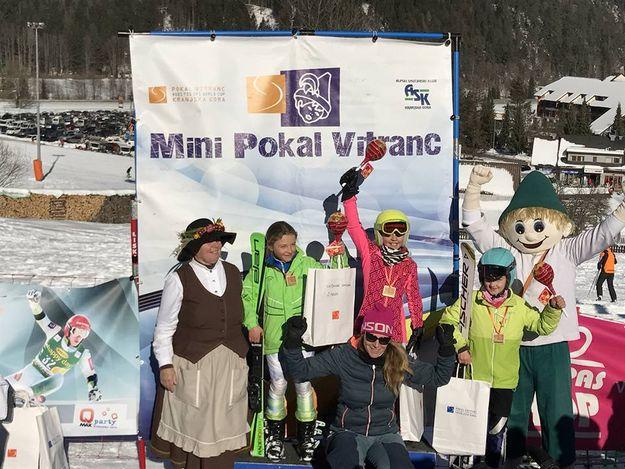 Prvi Mini Pokal Vitranc z odlično udeležbo