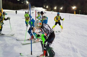 FIS night Giant Slalom race