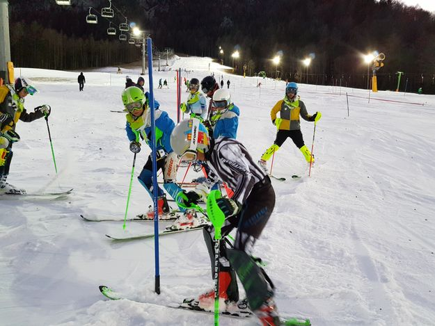 FIS night Giant Slalom race