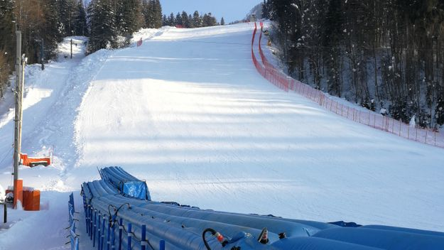 Last touch needed only at race slope and arena
