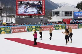 Veleslalom cilj / Giant slalom finish