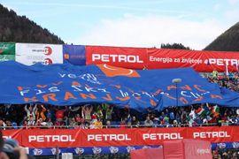 Slalom - cilj in podelitev / Slalom finish
