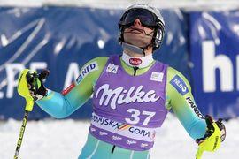 Slalom - ciljna arena / Slalom - finish