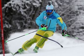 Slalom 1. tek / Slalom 1st run