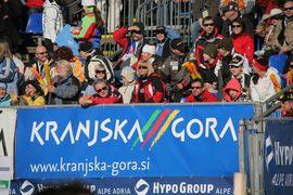 Dogajanje v vitranški areni / Vitranc Cup arena
