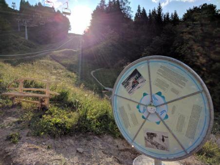 V Kranjski gori tematska poučna pot Vitranc