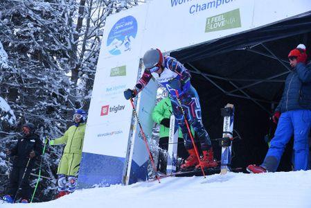 Para Alpine skiers twice in Kranjska Gora