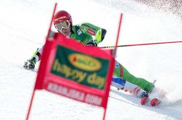 Žan Kranjec in the Final Run