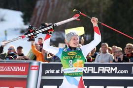 Veleslalom podelitev / Giant slalom ceremony