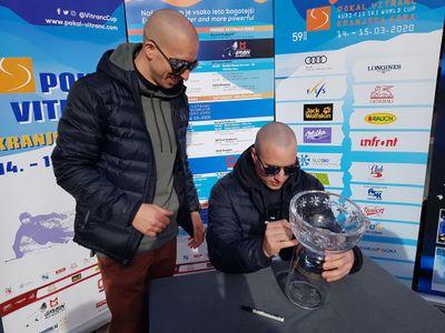 Famous Slovenians on ski