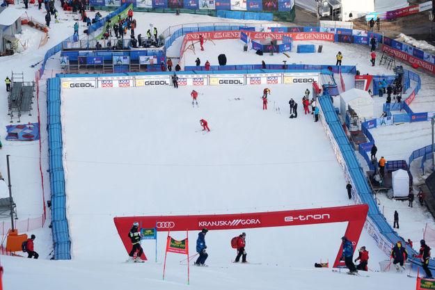 Oba Slovenca v finalu veleslaloma