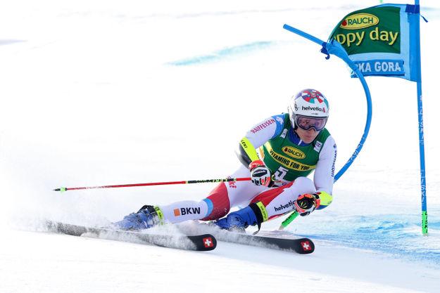 Dvojna veleslalomska švicarska zmaga