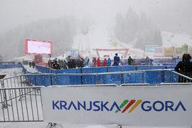 Slalom 1 tek/ Slalom 1st run