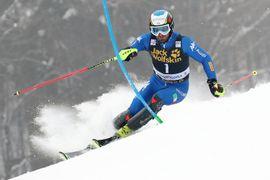 Slalom 1 tek / Slalom 1st run