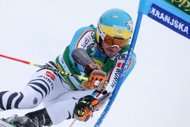 Veleslalom prvi tek / Giant slalom 1st run