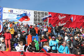 Veleslalom - Cilj / Giant slalom - Finish
