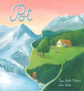 Otroška knjiga POT – Srčni smučar Gruba