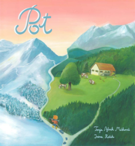 Children's Book THE PATH – GRUBA, THE ARDENT SKIER