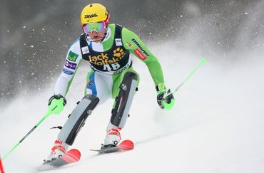 Štefan Holds the Best Time of the Second Run
