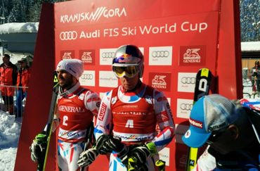 French Skier Pinturault Leads after the First Run